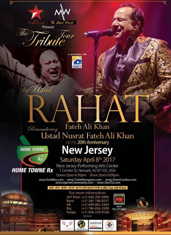 Rahat Fateh Ali khan updated