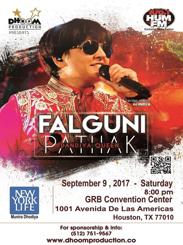 Falguni Pathak in Texas -2017-6-21-17-54-47